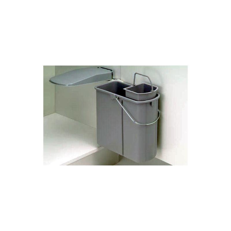 Einbau Abfallsammler Schwenkbar 5 L Bioeinsatz 19 L Mülleimer
