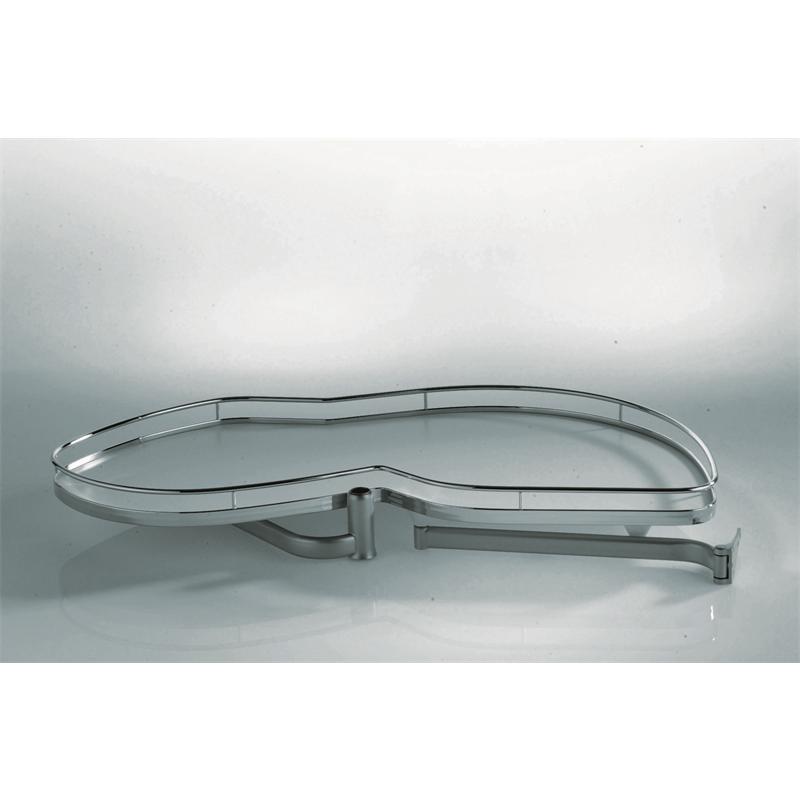 eckschrank schwenkauszug lemans verchromt rechts ausschwenkbar ab 50er t r drehboden unterschrank. Black Bedroom Furniture Sets. Home Design Ideas