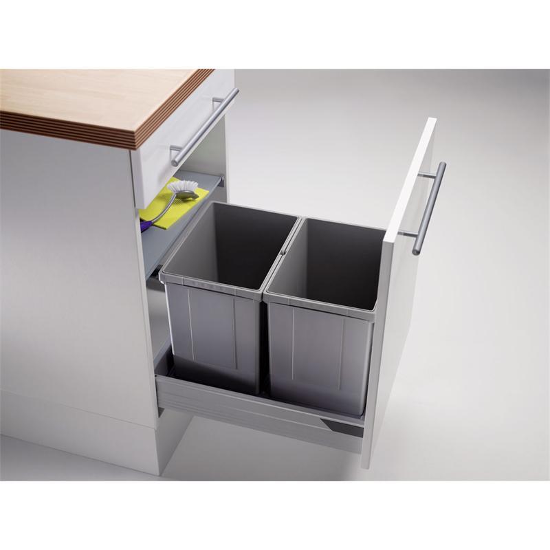 abfallsammler pullboy vario ab 50er schrank 34 l h 320 mm. Black Bedroom Furniture Sets. Home Design Ideas
