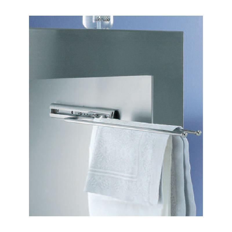 Handtuchhalter Für Bad handtuchauszug zweiarmig chrom länge 325 mm auszug 2 armig