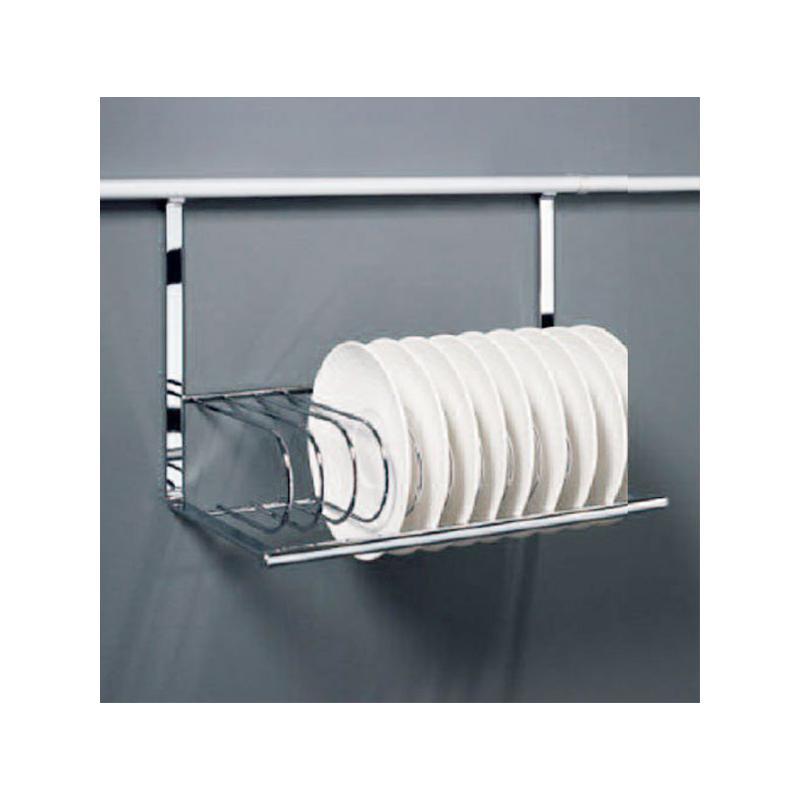 teller und schneidbretthalter f r relingsystem linero 2000 edelstahl optik k chenreling halter. Black Bedroom Furniture Sets. Home Design Ideas