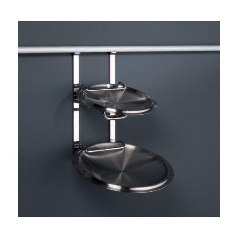 deckelhalter f r relingsystem linero 2000 ablage edelstahl optilk k chenreling halterung. Black Bedroom Furniture Sets. Home Design Ideas