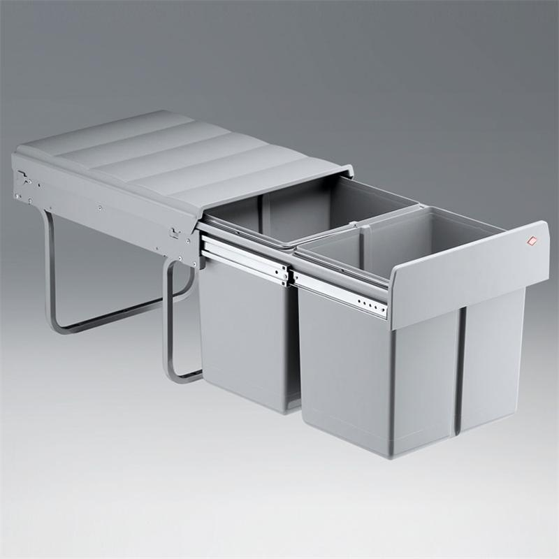 abfallsammler double master 40dt vollauszug 32 l m lleimer. Black Bedroom Furniture Sets. Home Design Ideas