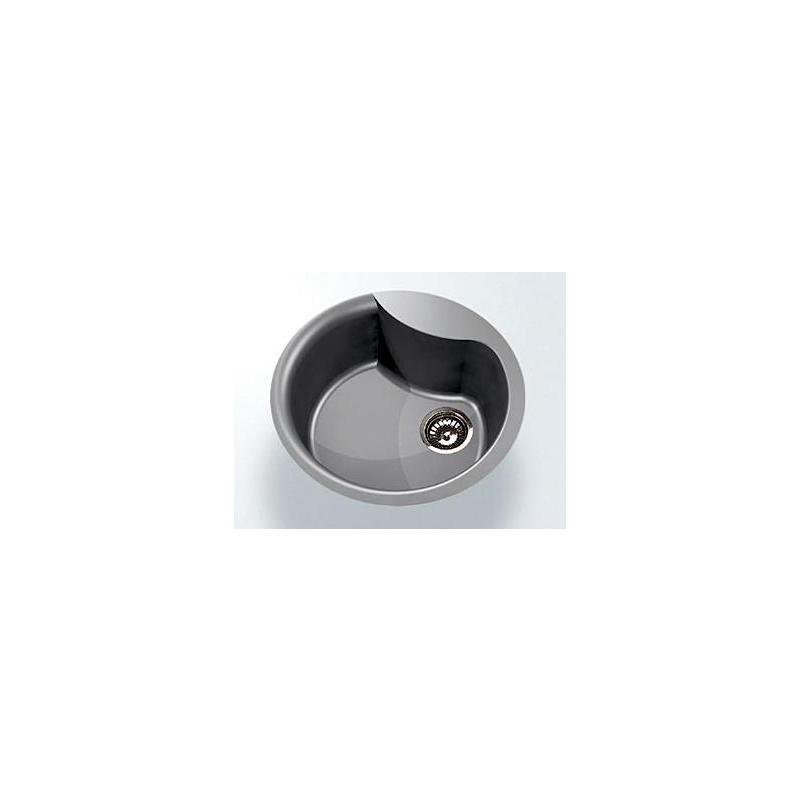 Granitspüle Einbauspüle rund granit weiß Spüle als Granit ... | {Spülbecken granit weiß 74}