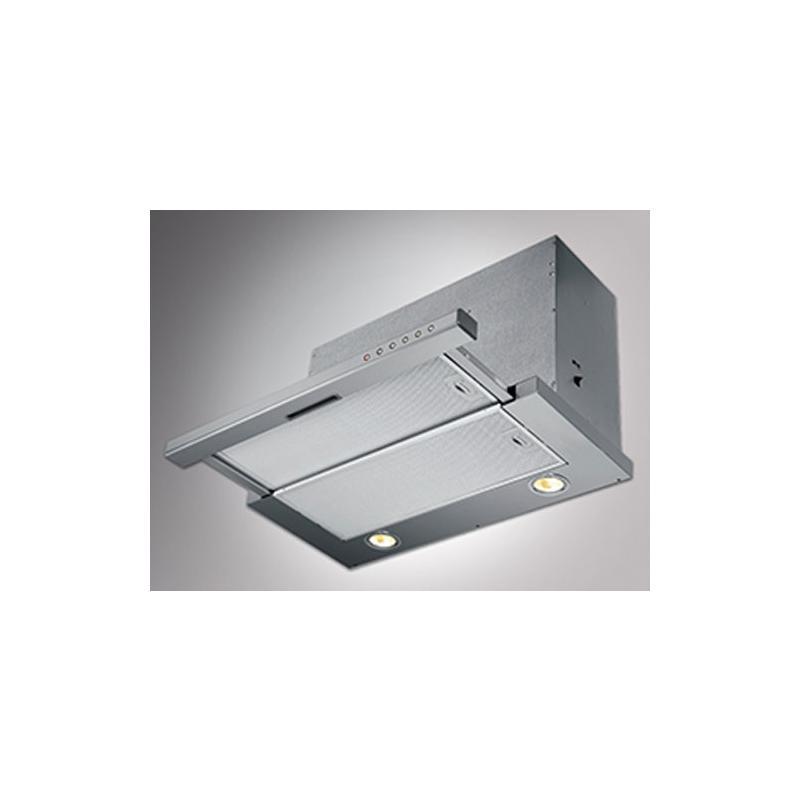 flachschirmhaube fl440 60 cm edelstahl front einbaul fter unterbauhaube timer abluft haube. Black Bedroom Furniture Sets. Home Design Ideas