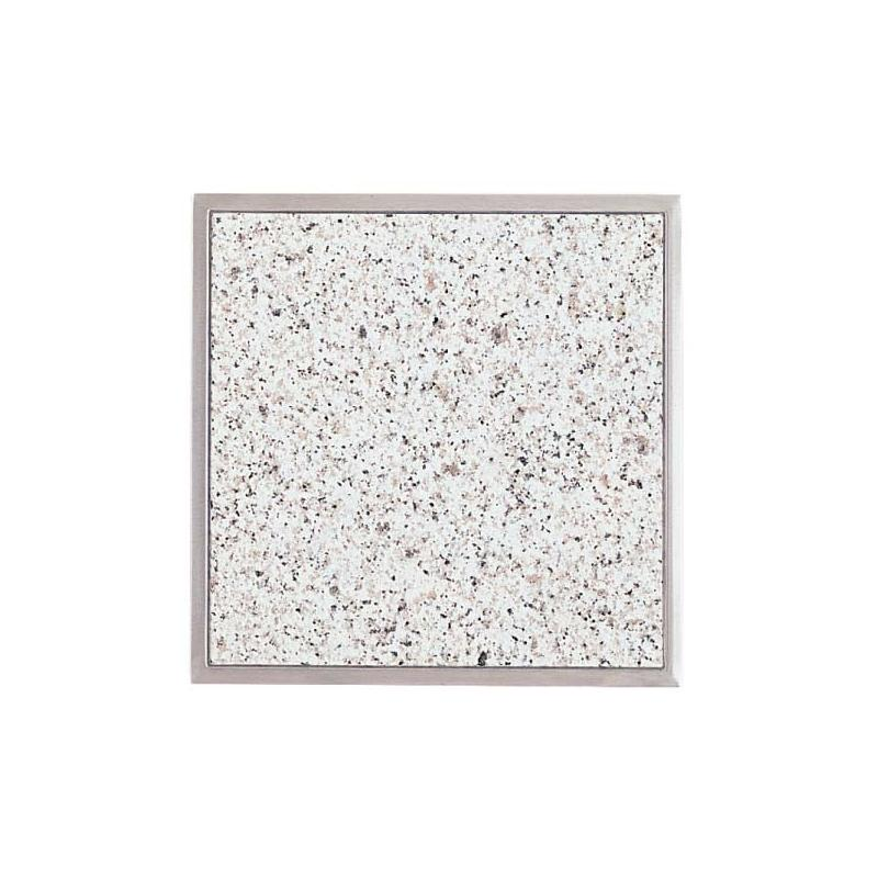 granitfeld 510 mm edelstahlrahmen granitplatte arbeitsplatte k che granit ebay. Black Bedroom Furniture Sets. Home Design Ideas