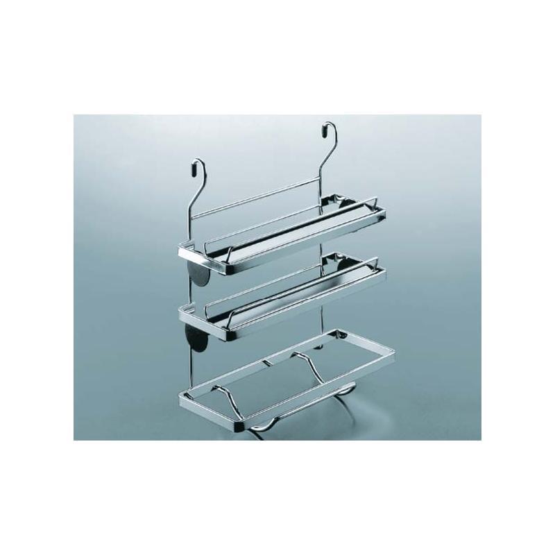 etagiger rollenhalter für relingsystem linero edelstahl optik