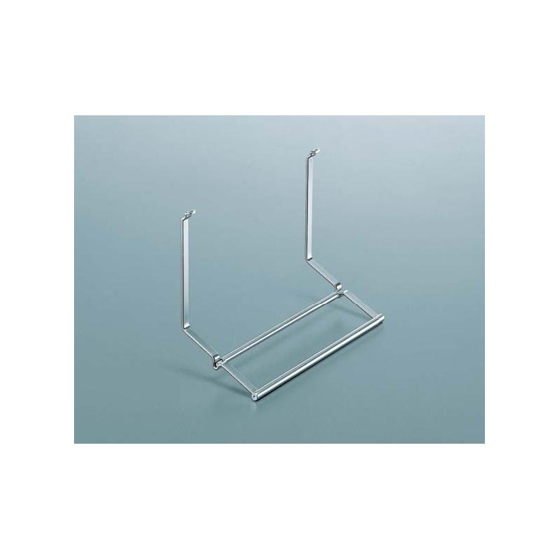 papierrollenhalter f r relingsystem linero 2000 edelstahl optik haushaltsrollen k chenreling. Black Bedroom Furniture Sets. Home Design Ideas