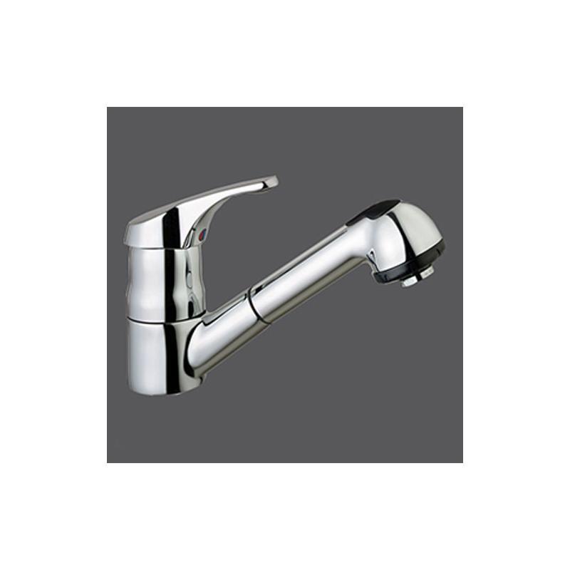 Einhebel Küchenarmatur Melohstart CHROM Optik Hochdruck  ~ Wasserhahn Niederdruck Hochdruck