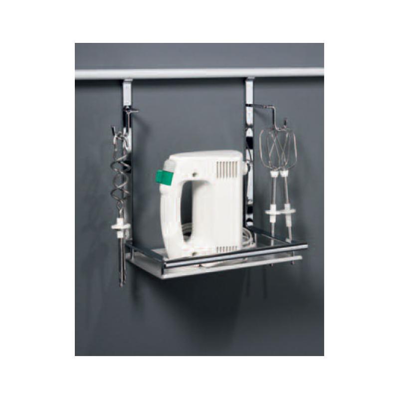 mixerhalter f r relingsystem linero 2000 edelstahl optik k chenutensilien ablage k chenreling. Black Bedroom Furniture Sets. Home Design Ideas