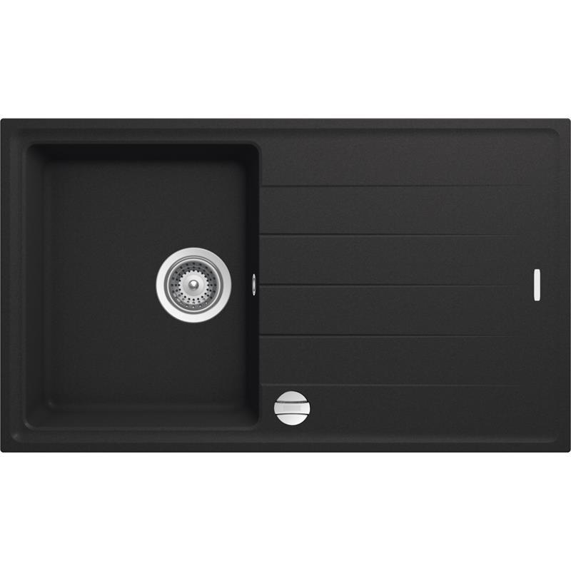 set granitsp le schwarz victory s780 und vaf niederdruck armatur einhebelmischer. Black Bedroom Furniture Sets. Home Design Ideas