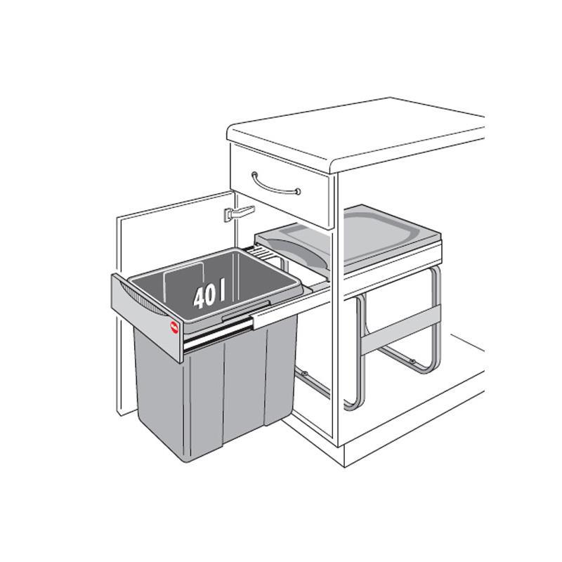 Mülleimer Ausziehbar mit tolle design für ihr wohnideen