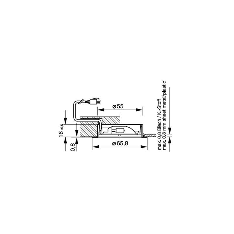 ld 1 10 1 einbauleuchte glas pendelleuchte modern. Black Bedroom Furniture Sets. Home Design Ideas