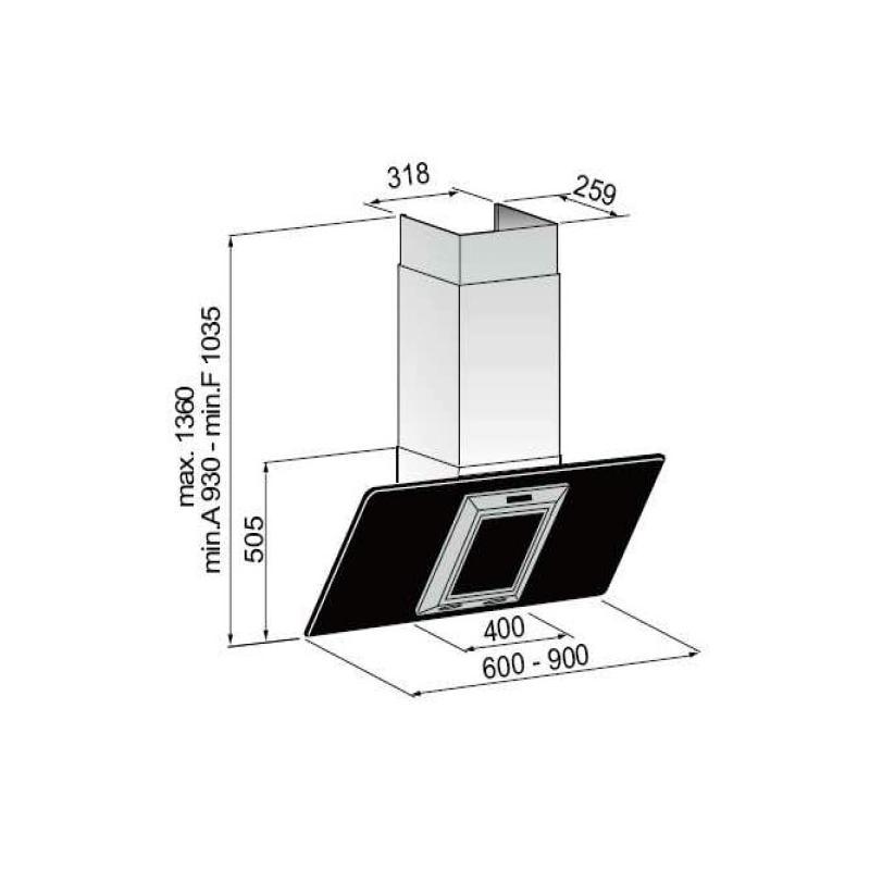 dunstabzugshaube als umlufthaube mit aktivkohlefilter und umluftset abzugshaube k che. Black Bedroom Furniture Sets. Home Design Ideas