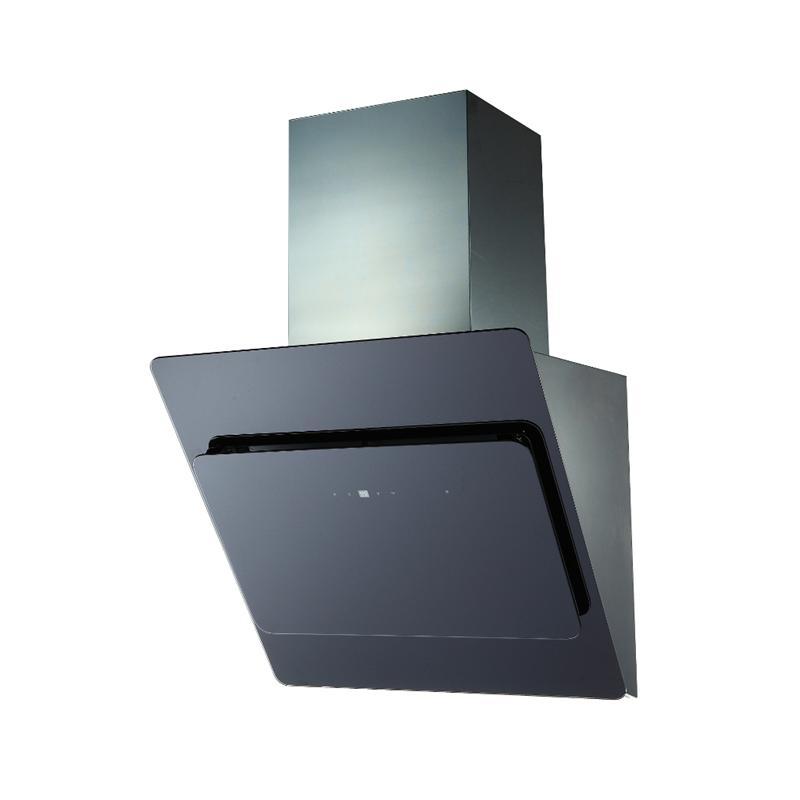 dunstabzugshaube kopffreihaube luna 60 90cm edelstahl schwarz wei glas abzug ebay. Black Bedroom Furniture Sets. Home Design Ideas