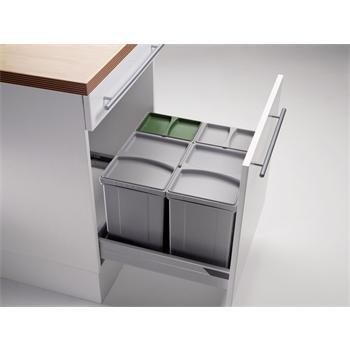 abfallsammler pullboy vario ab 60er schrank 50 l h 320 mm. Black Bedroom Furniture Sets. Home Design Ideas