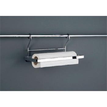 papierrollenhalter f r relingsystem linero einfach edelstahl optik halterung k che reling. Black Bedroom Furniture Sets. Home Design Ideas
