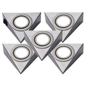 led unterbauleuchte 2er-5er set küchenleuchte unterbaustrahler ... - Unterbaustrahler Küche