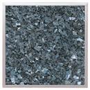 Granitfeld mit Edelstahlrahmen Granitplatte Granit  Labrador Blue Pearl 250 x 250 mm Arbeitsplatte