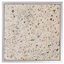 Granitfeld mit Edelstahlrahmen Granitplatte Granit  Verde Eukalyptus 250 x 250 mm Arbeitsplatte