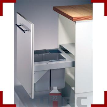 wesco 36 l einbau abfallsammler pullboy soft 50 50 cm k che m lleimer ebay. Black Bedroom Furniture Sets. Home Design Ideas