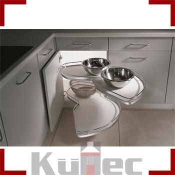 eckschrank schwenkauszug drehboden beschlag 45r lemans ebay. Black Bedroom Furniture Sets. Home Design Ideas