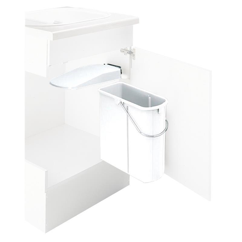 wesco abfallsammler wei 19 l m lleimer schrankt r ab 45. Black Bedroom Furniture Sets. Home Design Ideas