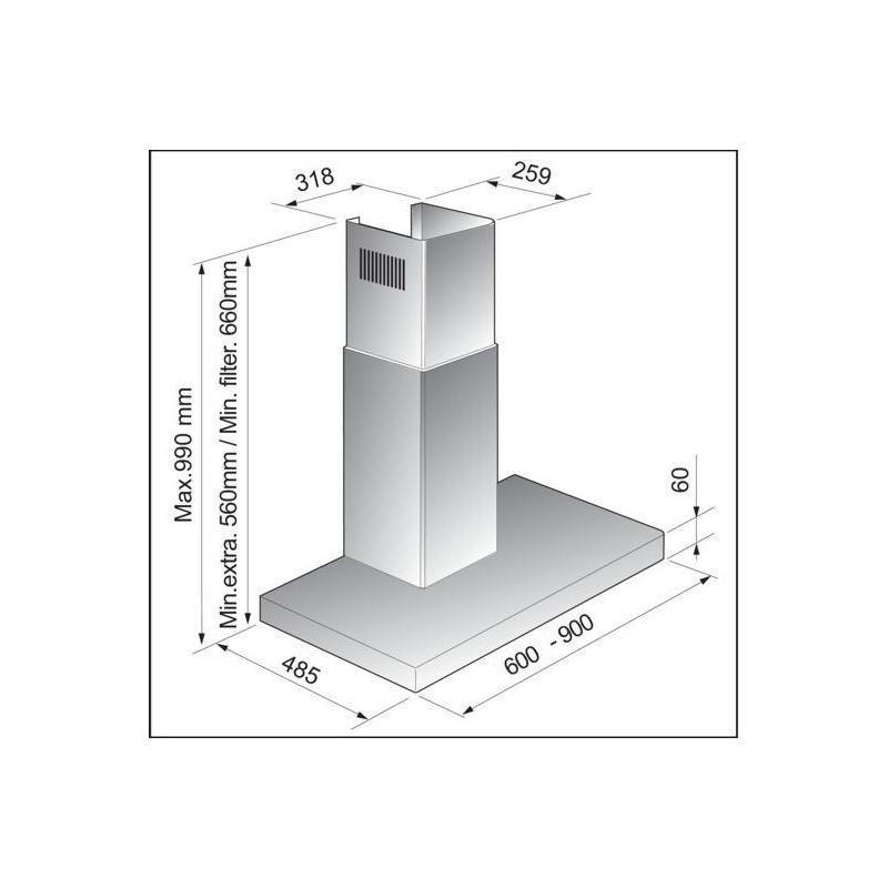 Kamin Dunstabzugshaube Fensterkontaktschalter 2021