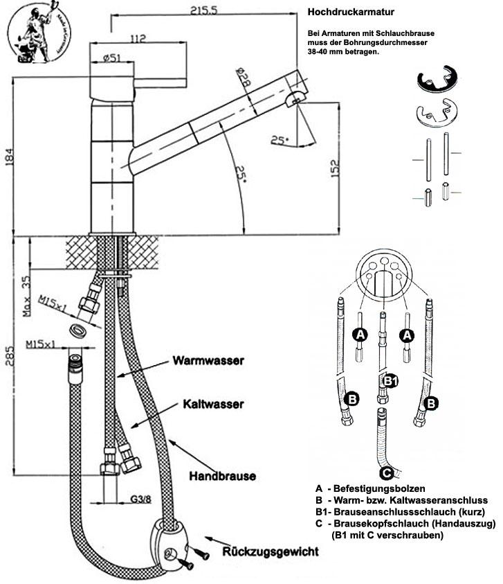 Beliebt Hochdruckarmatur LR62